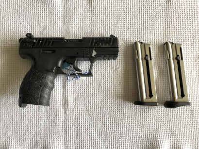 Walther P22 .22LR – 260 €